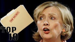 Top 10 Hillary Clinton Scandals