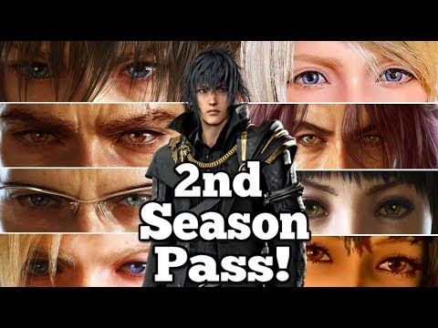 """Ungrateful fans"" to get SECOND Final Fantasy XV Season pass in 2018!"
