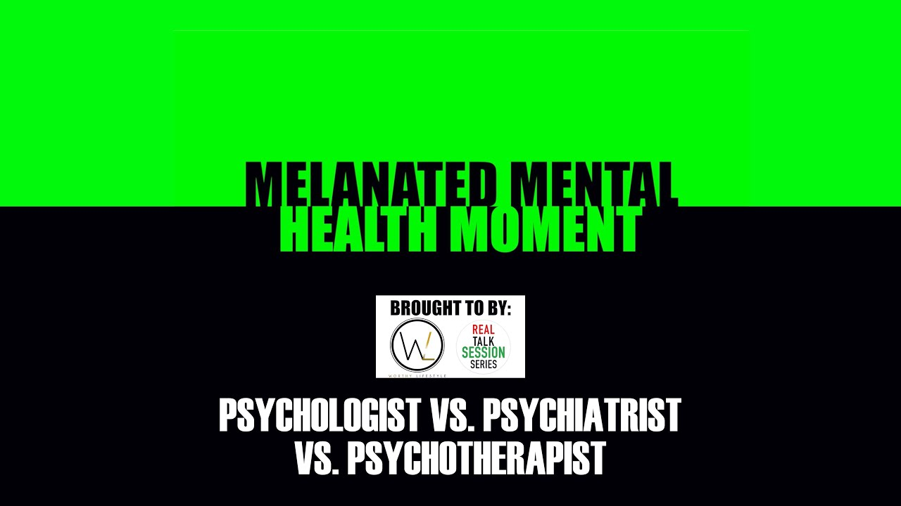 Melanated Mental Health Moment