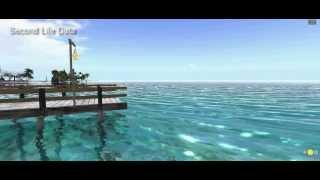 Paisajes oceánicos dentro de Second Life. Imagenes relajantes dentr...