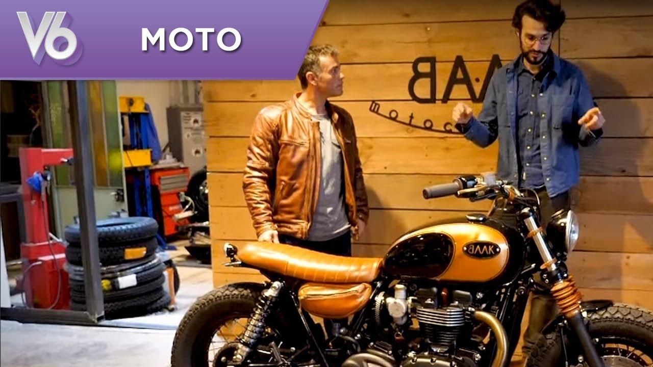 Essaie Dune Triumph Préparée Les Essais Moto De V6 V6 Thewikihow