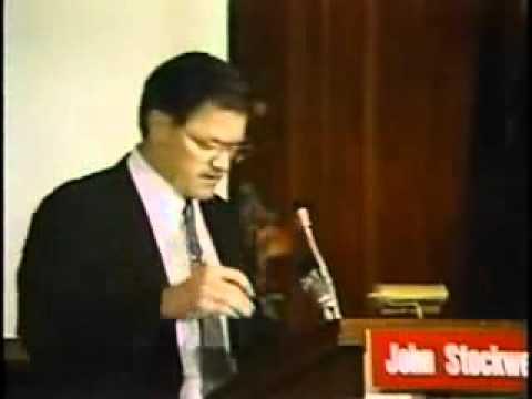 John Stockwell - CIA's War on Humans