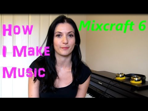 Mixcraft 6 - How I make music, simple recording steps