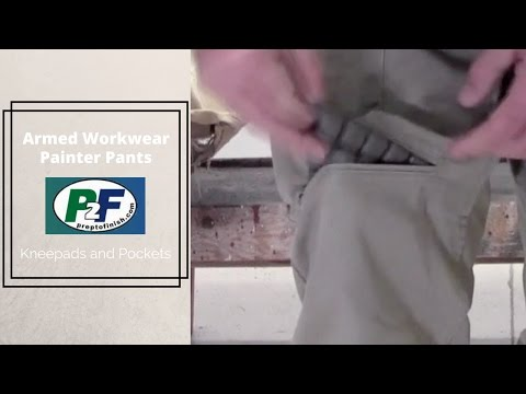 Armed Workwear Pants: Personal Organization of Hand Tools