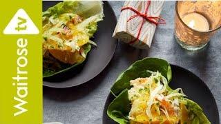 Crab Salad with Citrus Mint Dressing | Waitrose