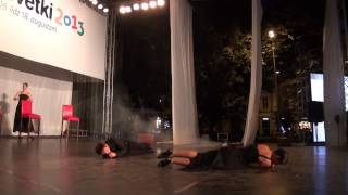 Dejas teātra Tango& dejas izrāde Pieturas (Lietuva) - 00064 (fragm)