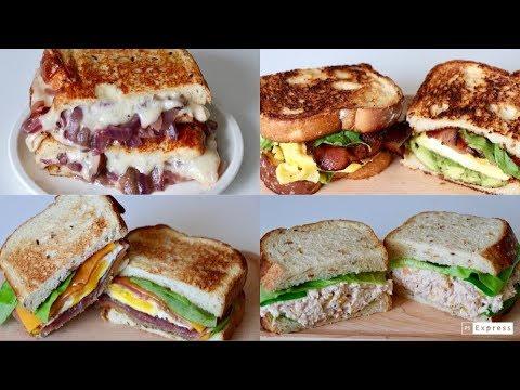 Celine厨房 | 最爱四款三明治 | 4 Favorite Sandwiches🥪