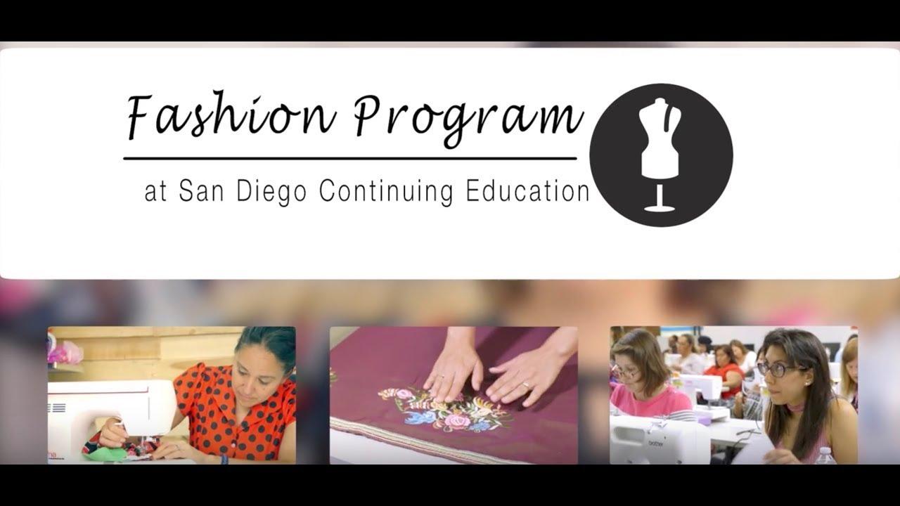 Fashion Program At Sdce Youtube