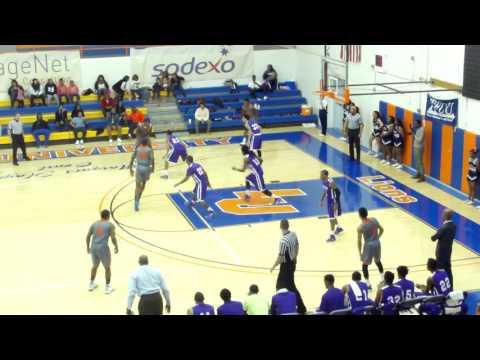 Landon Gray Langston University vs Wiley College 03/01/15 partial Game