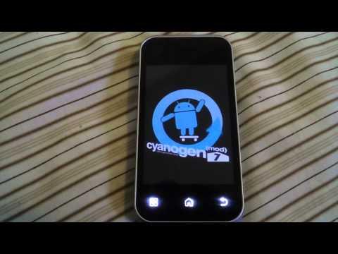 Motorola Backflip Cyanogen 7.1 Gingerbread 2.3.5