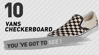 Vans Checkerboard, Women Fashion Collection // New & Popular 2017