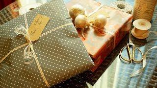 Упаковка подарка Video