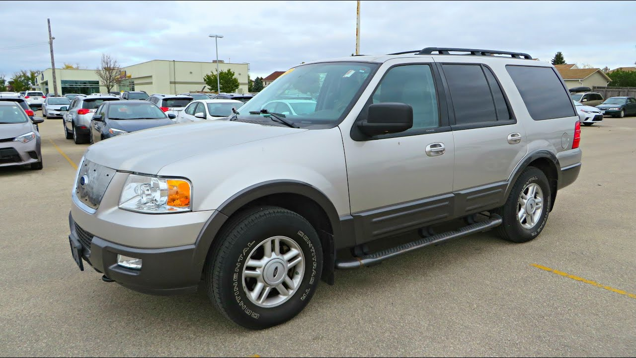 2005 Ford Expedition Xlt Start Up Walkaround And Vehicle