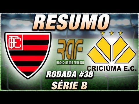 OesteFC x CriciúmaEC Ao Vivo l Campeonato Brasileiro Série B
