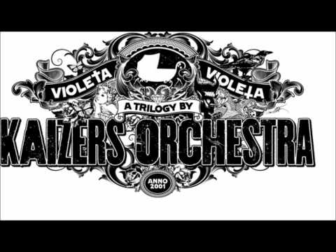 Kaizers Orchestra  - Tusen Dråper Regn (with lyrics)