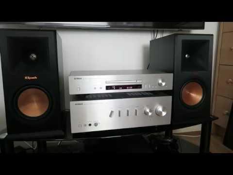 yamaha cd n301 klipsch rp 160m hifi update youtube. Black Bedroom Furniture Sets. Home Design Ideas