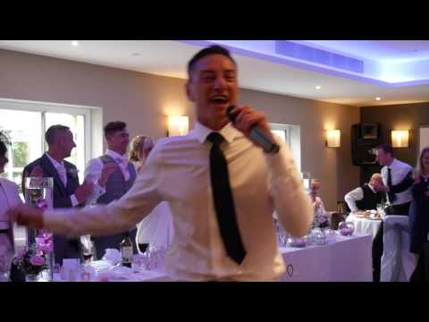 Mother of the bride surprises everyone with Singing Waiters @ The Holt Hotel