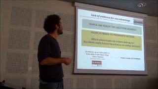 Alessandro Cini - Workshop SNAAS 2013 (Social Network Analysis in Animal Societies)