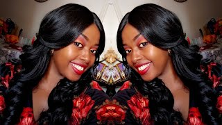 SHE'S SO GLAMOROUS! Zury Sis Glam Synthetic Hair Lace Front Wig - GLAM LACE H MYRA | KyReviews