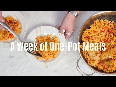 A Week Of One-Pot Meals | Pampered Chef