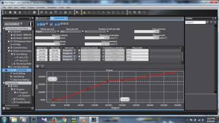 creating cam profile using cam function in sysmac studio omron