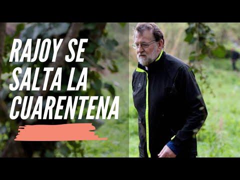 Mariano Rajoy se salta el CONFINAMIENTO para hacer ejercicio | Como Pablo Iglesias y Pedro Sánchez