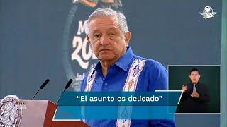 El presidente Andrés Manuel López Obrador afirmó que es probable que la FGR atraiga el caso; envía condolencias a familiares y amigos de las víctimas