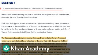 Constitutional powers of the president | American civics | US government and civics | Khan Academy