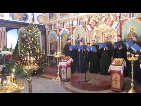 Przemków - Cerkiew prawosławna- Koncert kolęd Duchowieństwa 2013.02.10