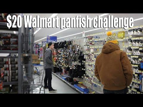 $20 Walmart Ice Fishing Challenge (#1)