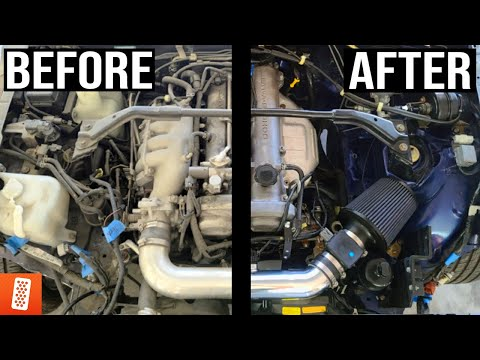 How To Clean Your Engine Bay & Remove Dirt/Grime & Grease!