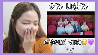 Gambar cover BTS 'Lights' REACTION VIDEO!!!💜✨ (wow this hurts 😭)