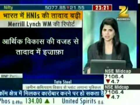 2011 10 13,Zee Business-Release of Merrill Lynch and Capgemini Asia-Pacific Wealth Report 2011