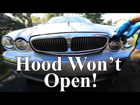 What if your car's Hood won't Open?