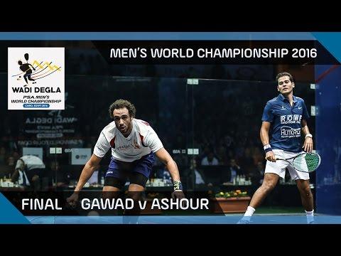 Squash: Gawad v Ashour - Men's World Championship 2016 Final Highlights
