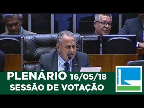 PLENÁRIO - Sessão Deliberativa - 16/05/2018 - 13:30