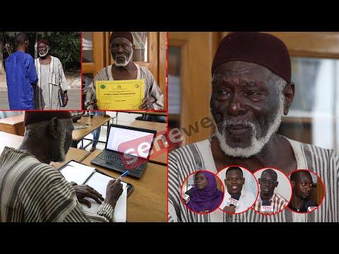 Etudiant de 75 ans, polygame et père de plus de 20 enfants: l'histoire du crack Diomaye Sène