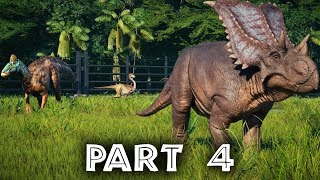 Jurassic World Evolution Gameplay Walkthrough Part 4 - ISLAND 2 ISLA MUERTA