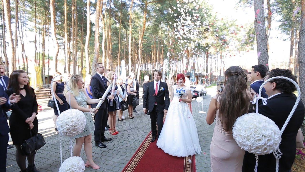 Teledysk ślubny Paulina Mariusz Hotel Boss Stary Młyn Youtube