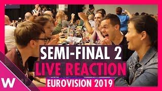 Eurovision 2019: Live reaction to Semi-Final 2 Qualifiers   wiwibloggs