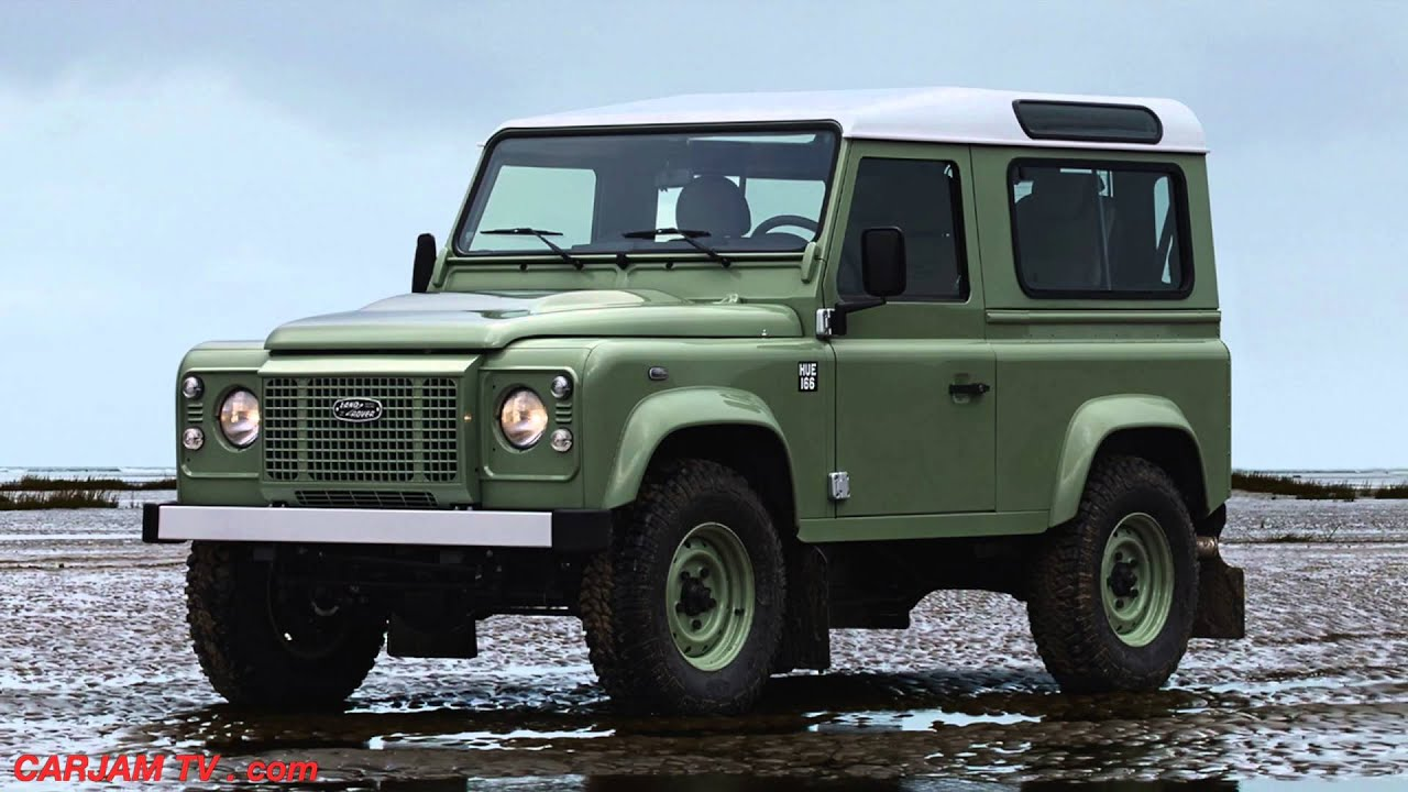 Land Rover Defender HERITAGE Final Limited Edition 2015 Land Rover Defender Interior CARJAM TV - YouTube