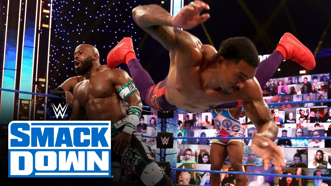 Big E & The Street Profits vs. Apollo Crews, Otis & Chad Gable: SmackDown, March 26, 2021