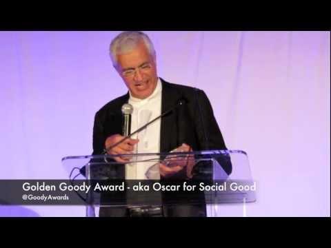 Louie Psihoyos Director The Cove receives Golden Goody Award