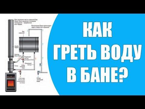 Как греть воду в бане?  Горячая вода в бане - как сделать лучшим образом?