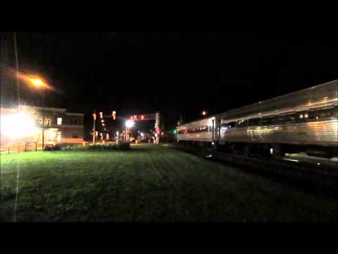 Amtrak Pere Marquette at Holland and Grand Rapids