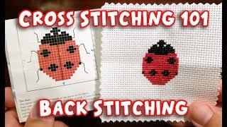 Cross Stitching 101: Back Stitching