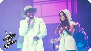 will.i.am and Lydia Lucy perform 'Boys & Girls': The Live Final - The Voice UK 2016