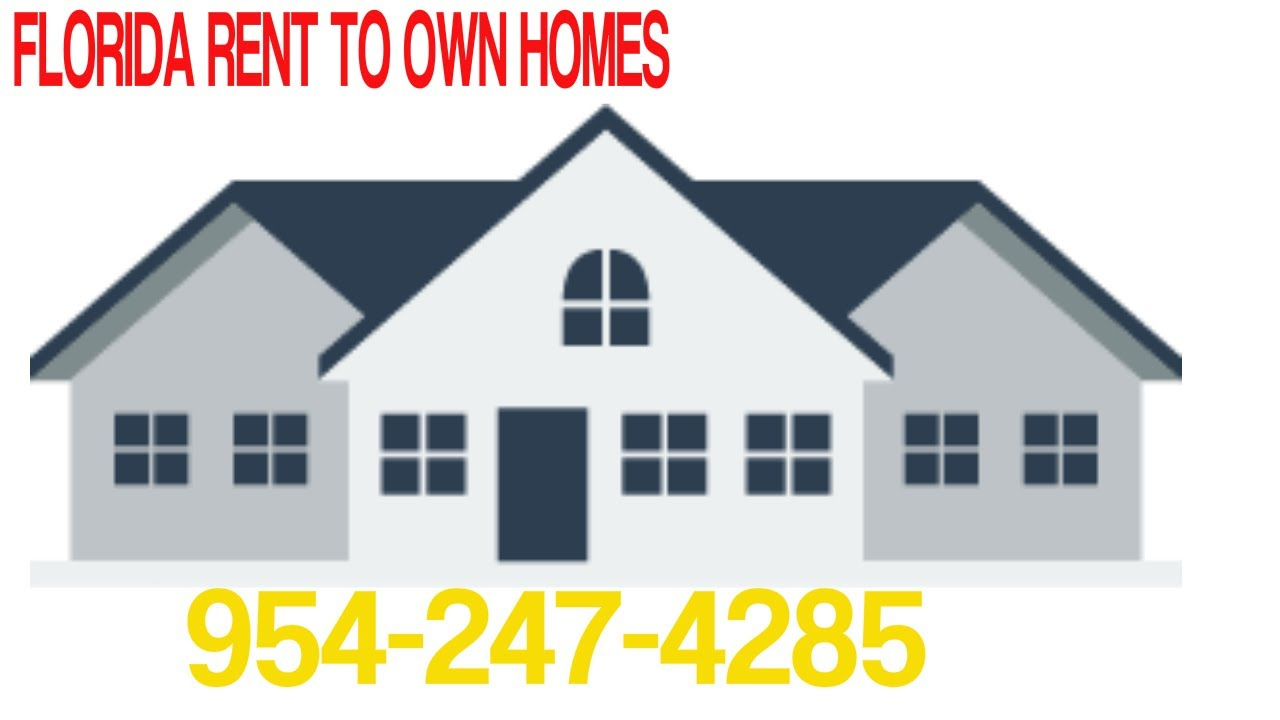 Rent To Own Homes In Pompano Beach Fl 954-247-4285 - YouTube