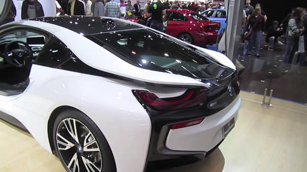 2015 BMW i8 Coupe Plug-in Hybrid First Look - YouTube