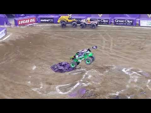 Grave Digger freestyle Indianapolis February 2018